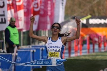 Nadia Ejjafini wins 2011 'Cross Internacional Valle de Llodio' (Miguel Alfambra)