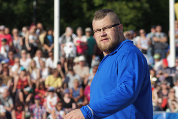 Polish hammer thrower Pawel Fajdek in Turku (Mirko Jalava)