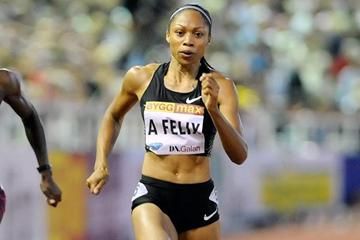 Allyson Felix takes another Diamond League victory, this time in Stockholm (Deca Text&Bild)