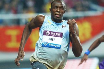 Usain Bolt in Shanghai (Errol Anderson)