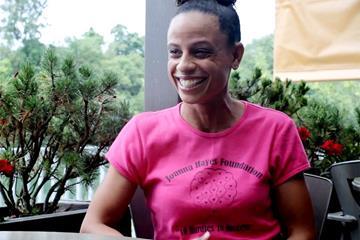 Joanna Hayes on IAAF Inside Athletics (IAAF)