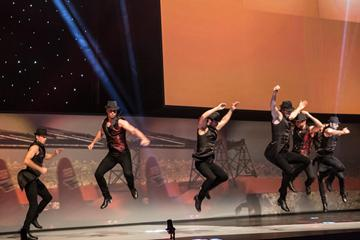 Dance group Buleria on stage at the IAAF Centenary Gala in Barcelona (Philippe Fitte)