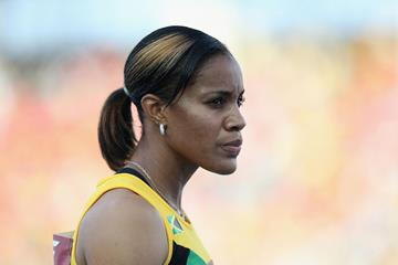 Jamaican 400m hurdler Kaliese Spencer (Getty Images)