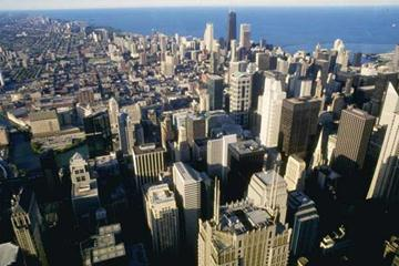 View of Chicago from the top of Sears Tower (Getty Images)