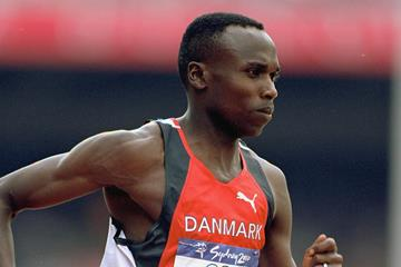 Wilson Kipketer at the 2000 Olympic Games in Sydney (Getty Images)