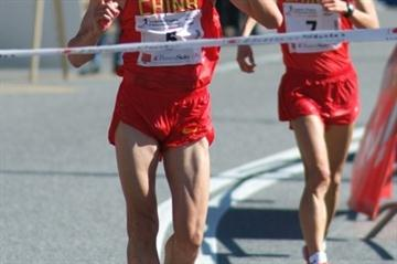 Zhen Wang (China) winning in Lugano (Lorenzo Sampaolo)