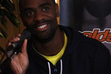 Tyson Gay in Rome (Bob Ramsak)