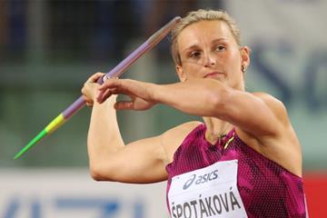 Another IAAF Diamond League javelin victory for Barbora Spotakova (Gladys Chai von der Laage)