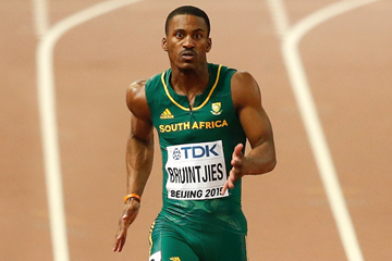 South African sprinter Henricho Bruintjies (Getty Images)