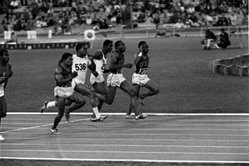 1968 Olympic 100m final (Getty Images)