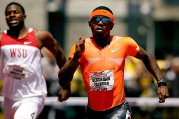 Bershawn Jackson cruises to the US title in 48.03 (Getty Images)