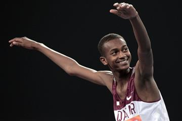 Mutaz Barshim Qatari High Jumper ()