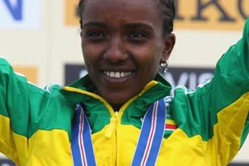 Another gold for Tirunesh Dibaba - Edinburgh 2008 (Getty Images)