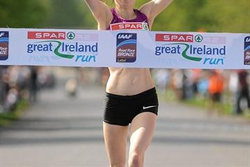Teenager Charlotte Purdue takes down a strong field in the Dublin 10K (Organisers)