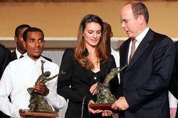 Bekele, Isinbayeva, HSH Prince Albert II - World Athletics Gala (Getty Images)
