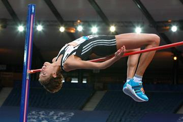 Blanka Vlasic at the 2014 IAAF Diamond League in Glasgow (Victah Sailer)