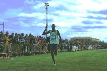 Kenya's Simon Arusei wins cross country in Quintanar (Luis Añóver Zarza)