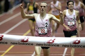 Andy Baddeley at the 2008 New Balance Games in New York (Victah Sailer)