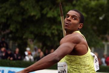 Maurice Smith competing in Kladno (Jan Kucharcik, www.atletika.cz)