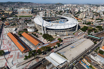 Rio Olympic Stadium, venue of the athletics at the Rio 2016 Olympic Games (Rio City Government)