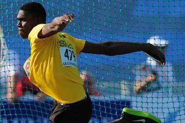 Jamaican discus thrower Fedrick Dacres (Getty Images)