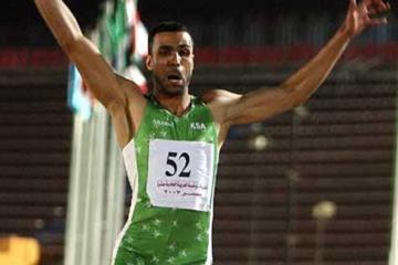 Mohammed Al Khuwaildi (KSA) flies to last round victory in Cairo at Pan Arab Games (AFP / Getty Images)