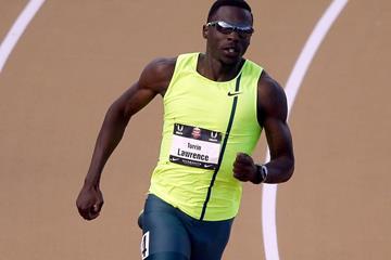 US 400m runner Torrin Lawrence (Getty Images)