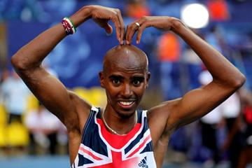 Mo Farah at the IAAF World Athletics Championships Moscow 2013 (Getty Images)