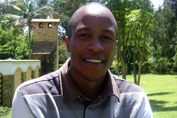 Saif Saaeed Shaheen (QAT) photographed in Eldoret, Kenya, during his interview (Saddique Shaban)