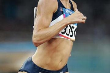 Nicole Teter of the US in the women's 800m (Getty Images)
