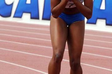 Youth athlete Rosangela Santos of Brazil (Wander Roberto)