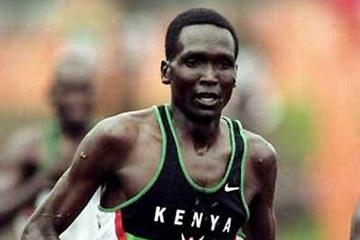 Paul Tergat at the 1999 IAAF World Cross Country Championships (Getty Images)