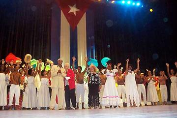 The Gala show, 'the Centennial of Cuban athletics' (Javier Clavelo Robinson)