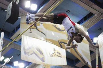 Andre Niklaus of Germany during the Pole Vault discipline of the men's Heptathlon (Getty Images)