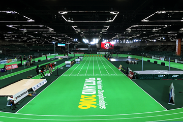 Portland Indoors Oregon Convention Center (IAAF)