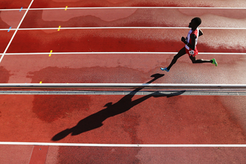 Ali Kaya on his way to gold in the 10,000m at the European Under-23 Championships in Tallinn (Getty Images)