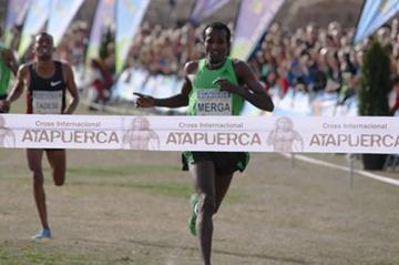 Imane Merga kicks off his Cross Country campaign with victory in Atapuerca (Alfambra Fundación ANOC)