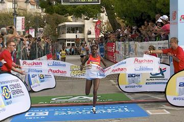 Josephine Chepkoech, winner at the 2013 Marseille-Cassis 20km (Aurélie Robert / REK-ON)