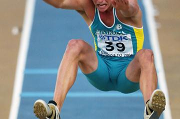 Long Jumper Chris Nofke of Australia selected to compete in Marrakech (Getty Images)