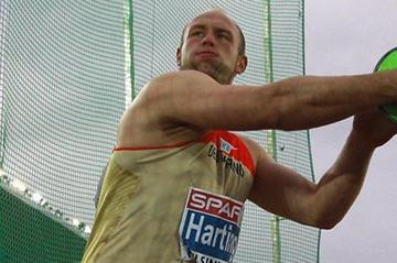 Robert Harting takes the European title in Helsinki (Getty Images  )