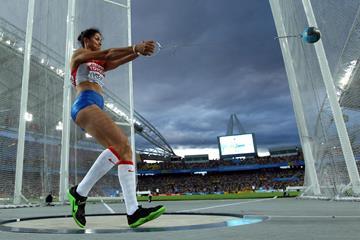 Russian hammer thrower Tatyana Lysenko (Getty Images)