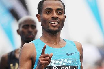 Ethiopia's Kenenisa Bekele in action (Getty Images)