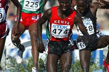 Ronald Kipchumba Rutto of Kenya wins the Men's 3000m Steeplechase Final (Getty Images)