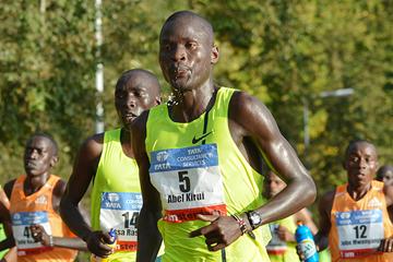Abel Kirui in action at the Amsterdam Marathon (Organisers)
