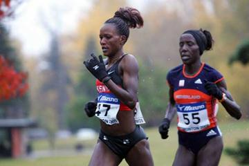 Chepkemei and Kiplagat battle it out in Edmonton (Getty Images)