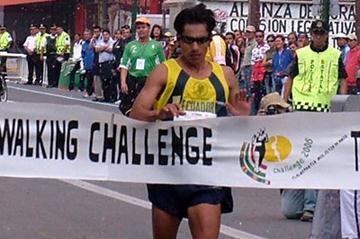 Jefferson Perez winning in Tlalnepantla de Baz (Joel Morales Bravo)