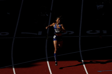 Allyson Felix wins the 400m at the US Olympic Trials (Getty Images)