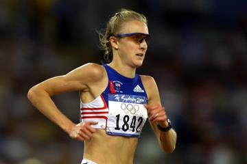 Paula Radcliffe at the 2000 Olympic Games (Getty Images)