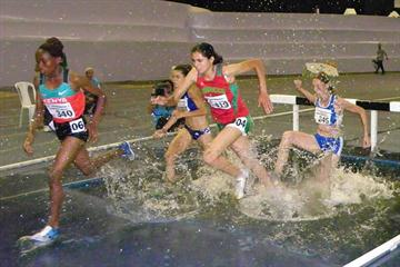 Mercy Njoroge en route to the World Military Games title in Rio de Janeiro (Yelena Kurdyumova and Sergey Porada)