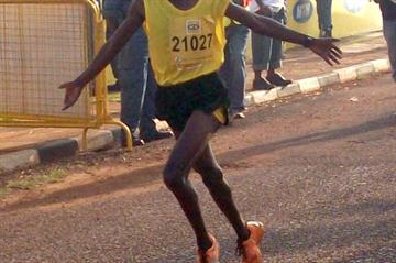 Moses Kibet prevails in the Kampala 10Km (Daniel Senfuma)